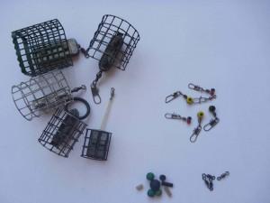 krmítka, obratlíky, průjezdy, gumové korálky