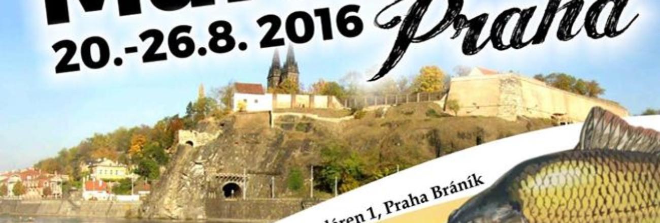 Fandíme našim kaprařům - Carp marathon Praha 2016