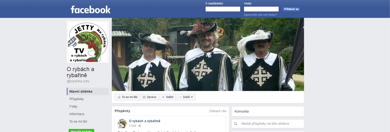 Náš Facebook napodruhé - O rybách a rybařině - @rybarina.ryby